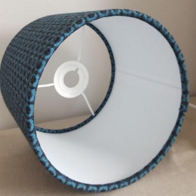 Inside 20cm Blue Black Square Moon