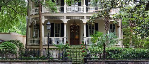 The Historic District of Savannah Georgia USA