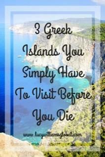 3 Greek Islands You Simply Have To Visit Before You Die