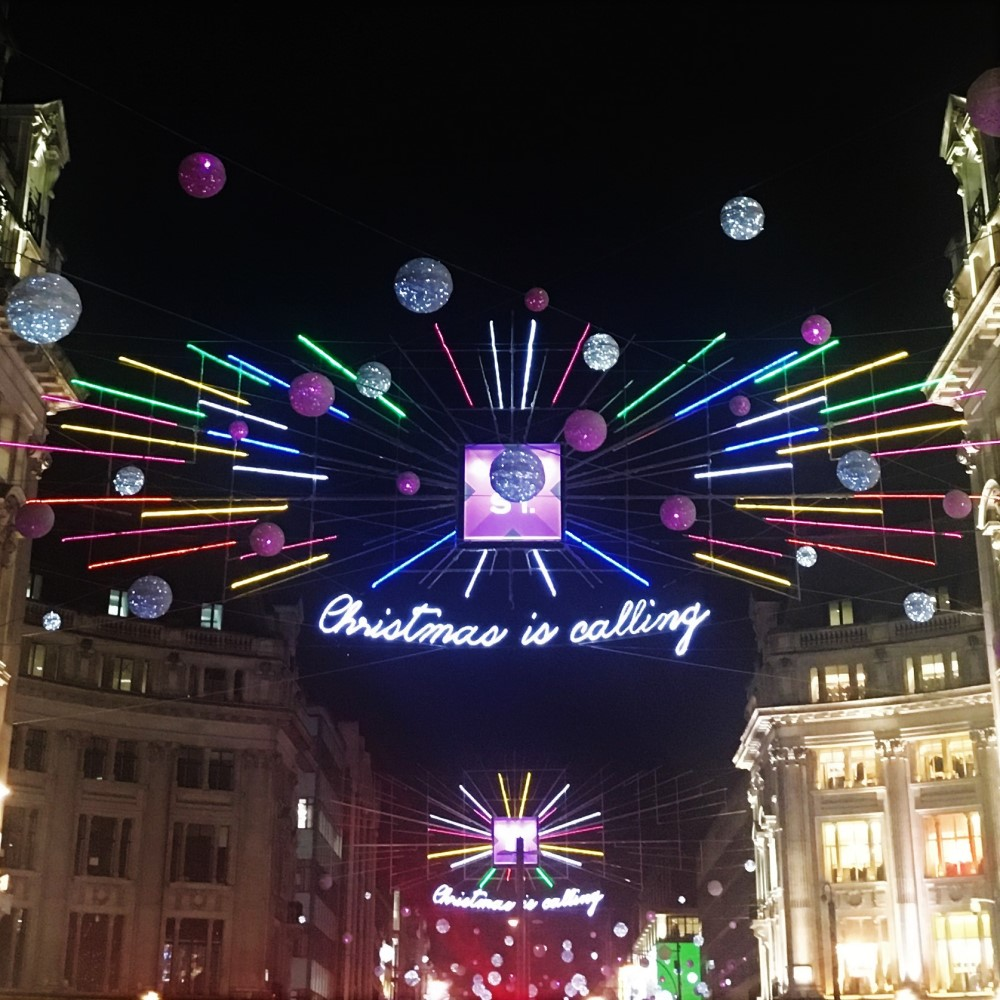 Oxford Street London Christmas Lights