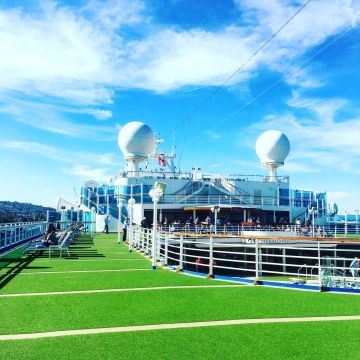 Cruise Ship Top Deck - Lucy Williams Global