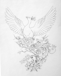 Lucy Yu Artemuse - Phoenix Tattoo Penelope
