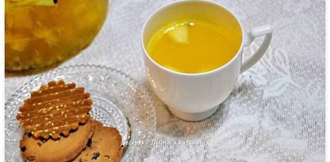 【食譜】百香橙果茶‧熱喝冷飲兩相宜的下午茶