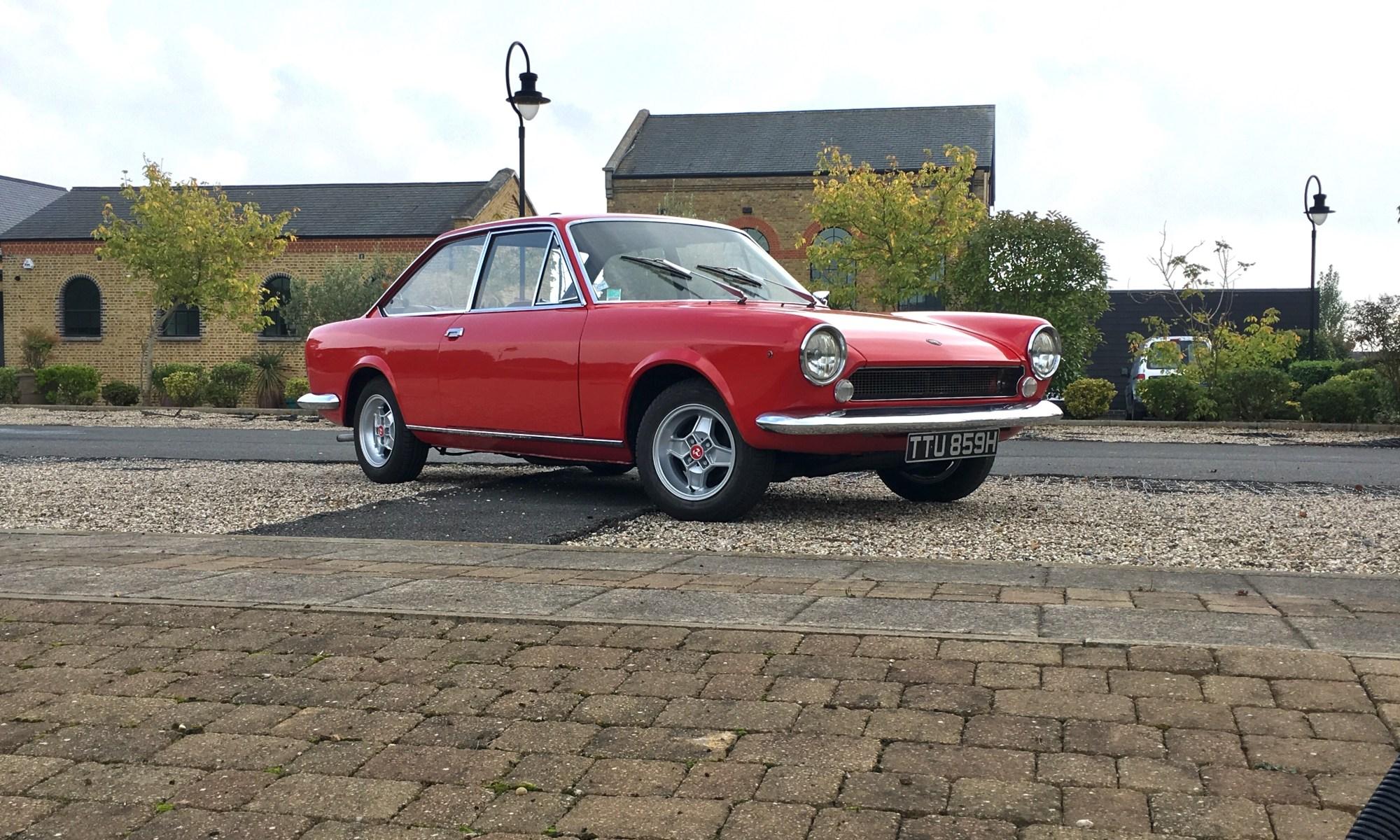 1970 Fiat 124 Coupe Sport Luden Automotive Spider