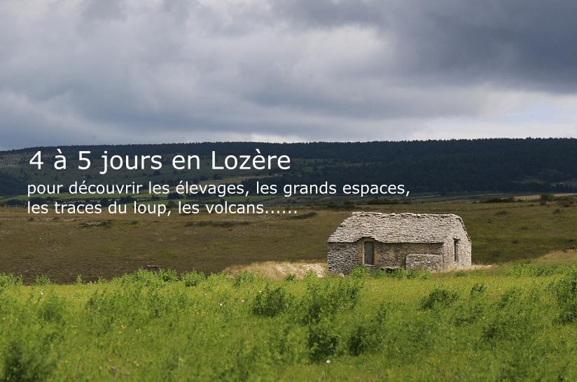 Lozère paysage