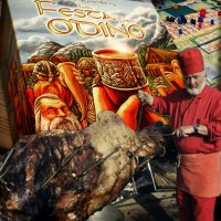 Odino e il cammello ripieno di agnello ripieno di pollo