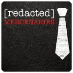 [redacted]: Mercenaries logo