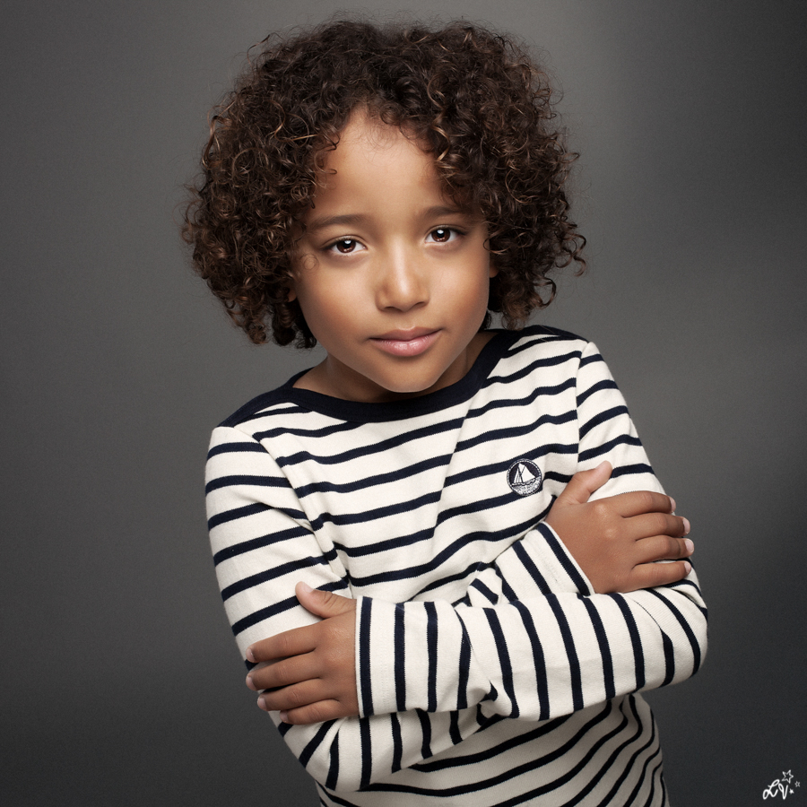 Portraitiste de France - enfant