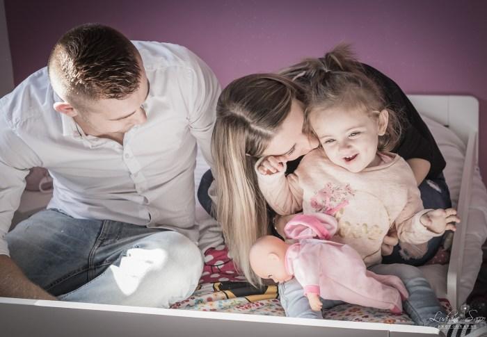 Portrait de Famille à domicile – Nancy & Christophe