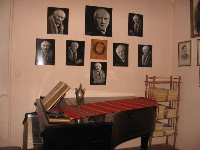 Меморіальний музей Станіслава Людкевича. Робочий кабінет композитора