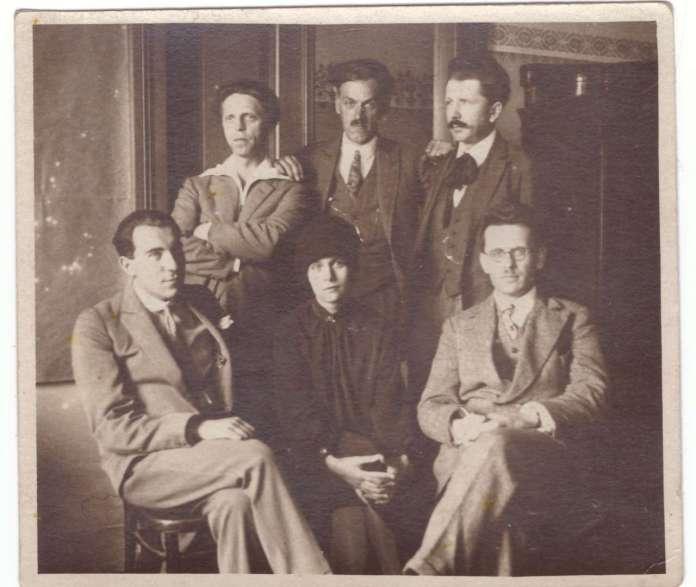 Зустріч з Пилипом Козицьким у Львові, 1927 р.