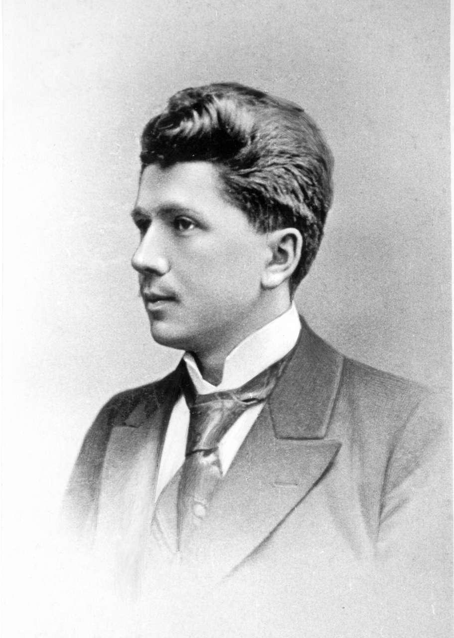 Станіслав Людкевич після закінчення Львівського університету, 1901 р.