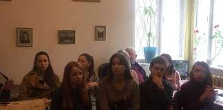 Студенти теоретико-композиторвського факультету Львівської національної музичної академії ім.М.Лисенка