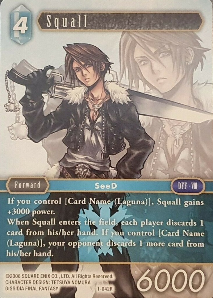 Squall Wave One Foil Rare
