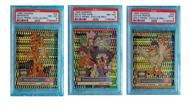 Digimon Animated Series Trading Cards