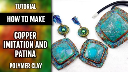 Paid Tutorial: Copper Imitation & Patina Covering Techniques (2 video)