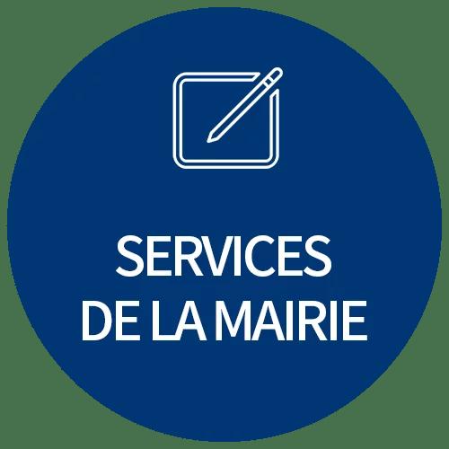cercle bleu services de la mairie 2 - Bienvenue