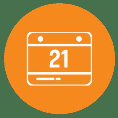 pastille mobile agenda 1 - Bienvenue