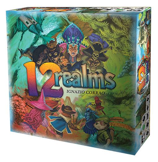 Caja del juego 12 Realms