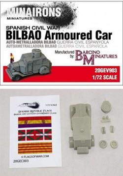 Bilbao Armoured Car de Minairons Miniatures