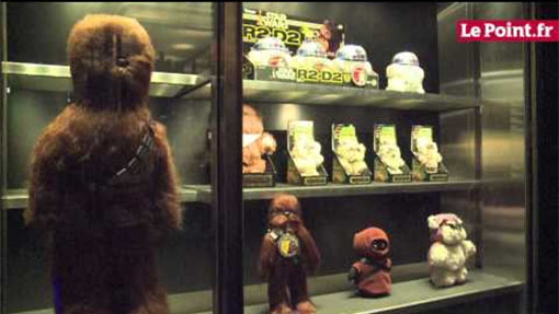 Exposición de Star wars