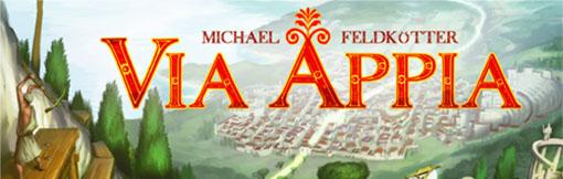 Logo del juego Via Appia