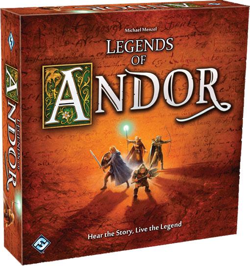 Caja del juego leyendas de andor