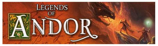 Logotipo del juego legends of andor