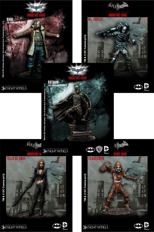 Novedades de Knight models para Batman