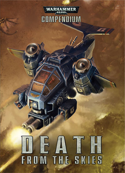 Portada de Death from the Skies de Games Workshop