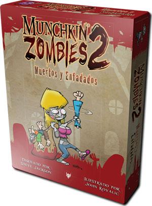 Caja de Munchkin Zombie 2