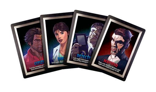 Cartas de rol de Ultimate Mafia