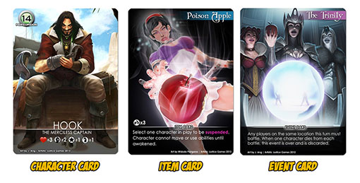 Cartas de Fairytale Games