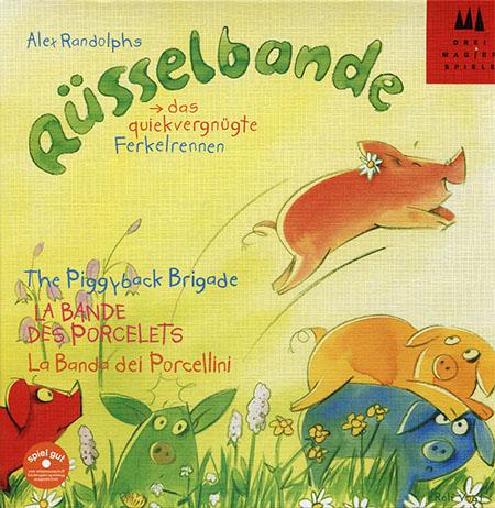 Edición alemana de la cuadrilla de los cerditos