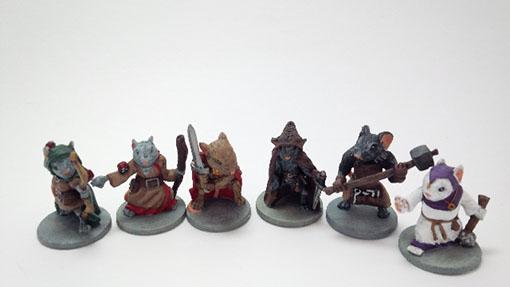 Miniaturas de Mice and Mystics