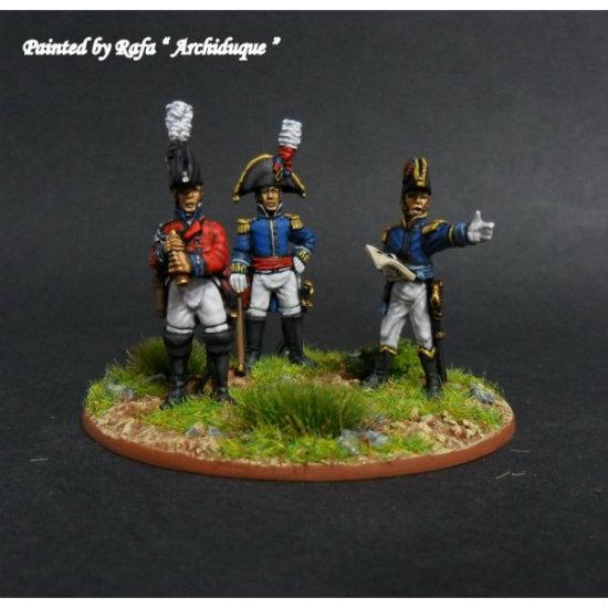 Pack de oficiales de Warmodelling