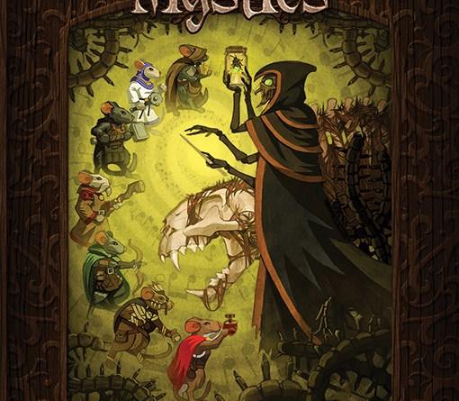 Portada de la expansión the heart of Glorm de Mice and Mystics