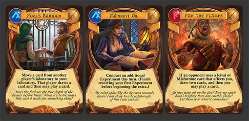 Cartas de Chaos & Alchemy