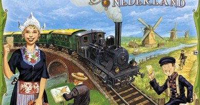 Portada de Ticket to ride Nederland
