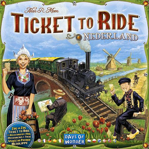 Portada de Ticket to ride Nederland