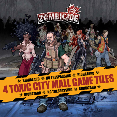 City Mall game Tiles de Zombicide
