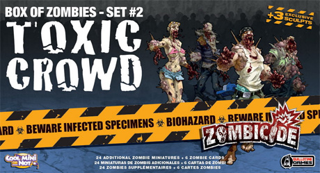 Toxic Crowd de zombicide