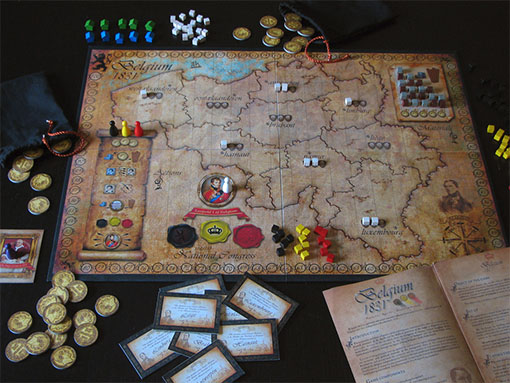 Partida final de testeo de Belgium 1831/kings nation