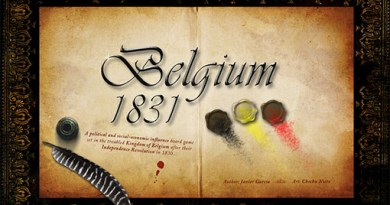 Portada del prototipo de Belgium 1831/king's nation