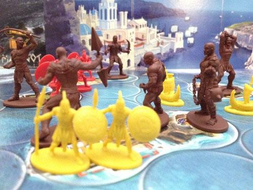 Imagen de la segunda expansión de Cyclades