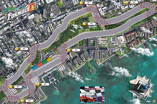 Circuito de New Jersey para Formula D