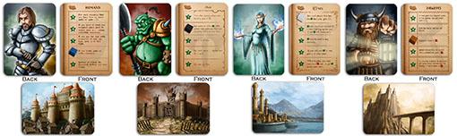 Facciones básicas de Tiny Epic Kingdoms