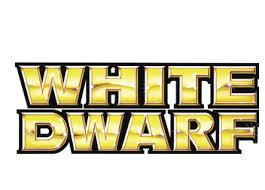 white dwarf, logotipo