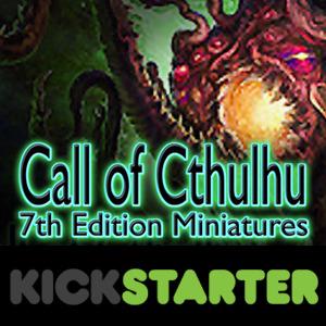 Call of Cthulhu, logo Kickstarter foto