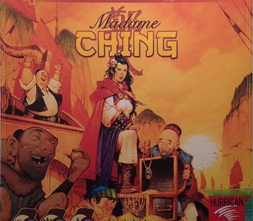 Portada de Madame Ching